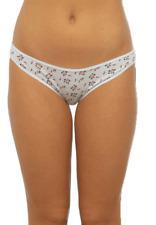 Ladies Anucci Brand Plain-Printed Hi-Leg Brief knickers Underwear 15 Pack