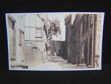 Vintage REAL PHOTO POSTCARD c1940s Breakneck Steps QUE.