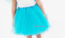 FATA principessa Tulle Tutu-Balletto Danza Costume Turchese Blu Gonna Tutu