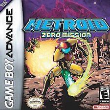 ***METROID ZERO MISSION GAME BOY ADVANCE GBA COSMETIC WEAR~~~