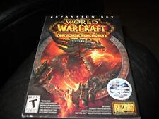 World Of WarCraft Cataclysm (Multi-Platform 2010) New!