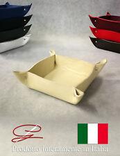 SVUOTATASCHE IN VERA PELLE PREGIATO ED ELEGANTE-  IDEA REGALO - MADE IN ITALY -