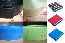 (AAA Battery) 55MM Wide Φ35MM PVC Heat Shrink Tubing Wrap 5M/25M