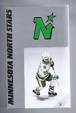 1987/88 Minnesota North Stars NHL Hockey Media GUIDE