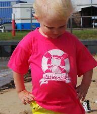 Küstenmädel ahoi maritimes Kindershirt Segeln Törn Norddeutsch Geschenk Deern