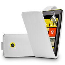 Etui Rabattable en Simili Cuir Pour Nokia Lumia 520/ 525/ 521 RM-917