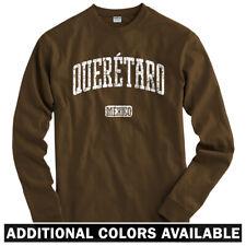 Queretaro Mexico Long Sleeve T-shirt - LS Men S-4X - Gift MX City Santiago de FC