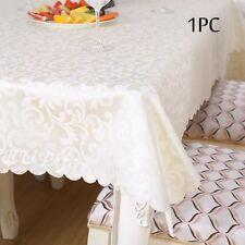 Classique Floral Pvc Vinyle Table Cloth Large largeur 180 cm grand couleurs naturelles neuf