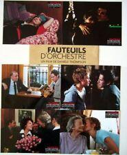 FAUTEUILS D'ORCHESTRE - C.De France - 6 FRENCH LC
