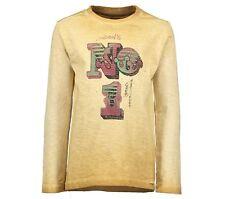 MOODSTREET Holland Jungen Shirt langarm ochre sand 122-176 UVP 31,95