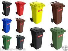 Sulo Mülltonnen 60L, 80L, 120L, in grau grün braun blau gelb rot vorrätig