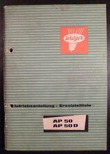 Welger Ballenpresse AP 50 Anleitung + ET-Katalog