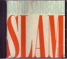 David Sanborn Slam PROMO RARE DJ REMIX CD Single 1988