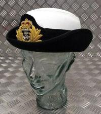 Genuine British Royal Navy Issue RN WRNS Women's Officers Tricorn Dress Hat