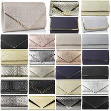 Glamexx24 Damen Clutch Tasche Handtasche Party Hochzeit Abendtasche Klein Bag