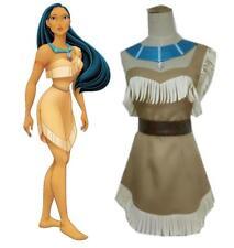 Costume Pocahontas carnevale cosplay vestito completo adulti abito donna