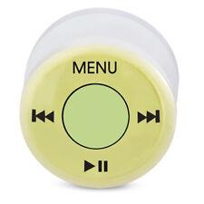 flesh tunnel plug acrilico plastica AUDIO MENU BOTTONE 1 PEZZO 10 mm - 18 mm
