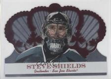 2000-01 Pacific Crown Royale Red #95 Steve Shields San Jose Sharks Hockey Card
