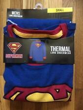 SUPERMAN ~ Men's Thermal Long Underwear Top ~ Men's  S  M  L  ~ NEW