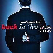 Back in the U.S. by Paul McCartney (CD, Nov-2002, 2 Discs, Capitol)