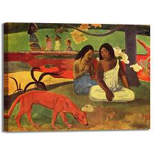 Gauguin arearea design quadro stampa tela dipinto telaio arredo casa