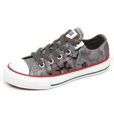 E3820 sneaker bimbo grey CONVERSE ALL STAR scarpe mimetico shoe kid boy