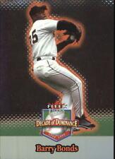 2001 Ultra Decade of Dominance #DD1 Barry Bonds - NM-MT