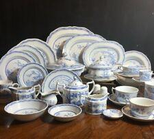Furnivals Ltd England Quail Blue Dishes Various Items Dinnerware & Serving Piece