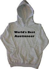 World's Best Auctioneer Kids Hoodie Sweatshirt
