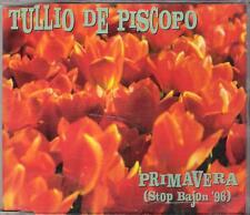 """TULLIO DE PISCOPO - RARO CDs GERMANY """" PRIMAVERA (STOP BAJON '96) """""""