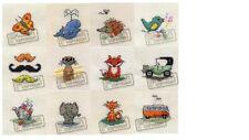 Mouseloft Mini Cross Stitch Kits  - Tiddler Collection - 2 Of 2