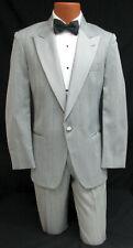 Men's Grey Christian Dior Tuxedo Jacket With Pants Wedding Prom Gatsby Cosplay