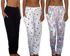 LADIES WOMENS LOUNGE PANTS PYJAMA BOTTOMS SLEEPWEAR UK SIZE XS - 6XL PLUS