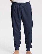 Sweathose Herren Jogginghose Lang Bio-Baumwolle Hose 300 g/m² 3 Taschen XS - 3XL