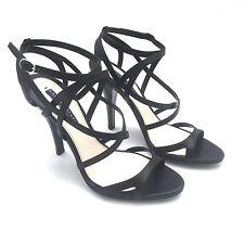 NWT $650 Ralph Lauren Purple Label Collection Black Calf Leather Heels AUTHENTIC