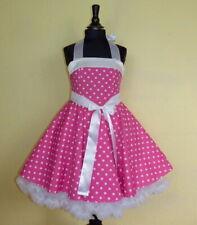 Mädchen Petticoat Rockabilly 50er Party Einschulung Blumenkind Kleid 92 - 128