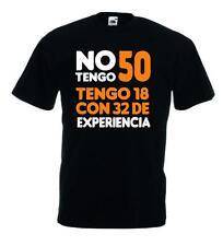 CAMISETA BROMA NO TENGO 50 AÑOS