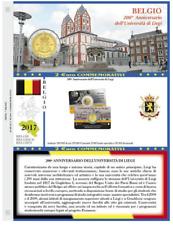 [NC] ABAFIL - FOGLI PER COLLEZIONE MONETE 2 EURO BELGIO COIN CARD 2014 - 2017