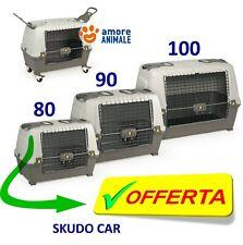 Trasportino per Cani  SKUDO CAR → 80 / 90 / 100 - Omologato per viaggi in auto