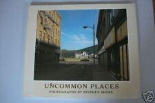 UNCOMMON PLACES STEPHEN SHORE PHOTOGRAPHY RARE 1982 ED