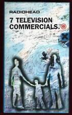 Radiohead. 7 Television Commercials - VHS NUOVA!