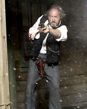 Open Range Michael Gambon Firing Gun in Shootout Poster or Photo