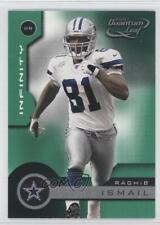 2001 Quantum Leaf Infinity Green #54 Rocket Ismail Dallas Cowboys Football Card