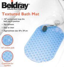 Beldray con textura antideslizante Alfombra De Ducha Baño de succión 69cm X 39cm en 2 Colores