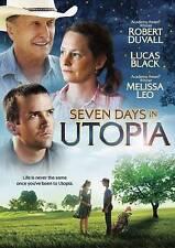 Seven Days in Utopia (DVD, 2012 Canadian)  Robert Duvall Golf Drama Family Movie