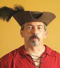 Medieval Celtic Renaissance SCA Larp Borgias Empire Noble Lord Leather Hat No2