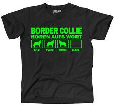 Thaw t-shirt perros Border Collie oír a la palabra siviwonder
