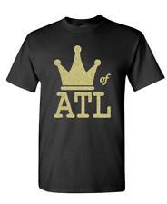 KING OF ATL - hip hop rap music atlanta - Cotton Unisex T-Shirt