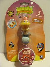 Moshi Monsters Moshlings 3 Pack  #52 Coolio & #23 Humphery Series 2 *NIP*