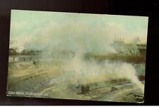 1911 Birmingham AL Coke Ovens RPPC Color Postcard Cover
